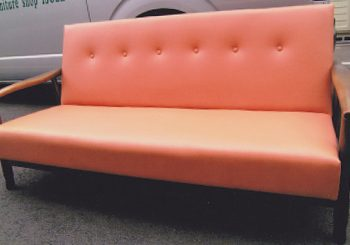 ソファーの修理 布地張替