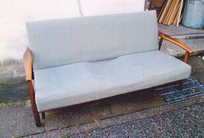 ソファーの修理