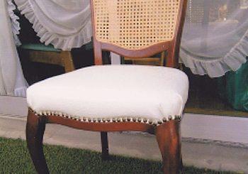 食卓椅子 座張替・背籐張替修理