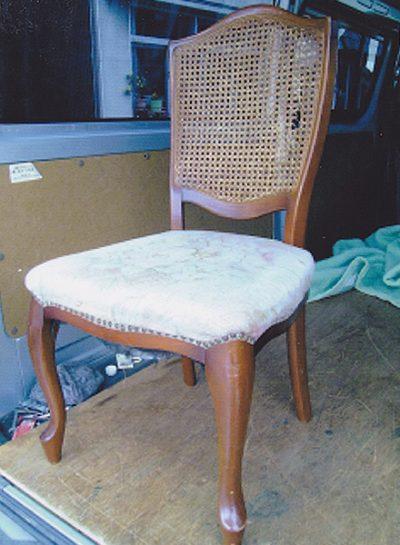 食卓椅子の修理