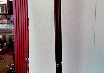 コート掛け・5尺サイドボード塗装